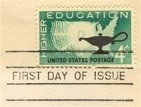 Higher Education 4 cent Stamp FDI SC 1206 First Day Issue