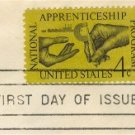 National Apprenticeship Program 4 cent Stamp FDI SC 1201 First Day Issue