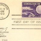 Echo I Communications for Peace 4 cent Stamp FDI SC 1173 First Day Issue