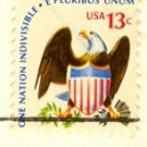 Eagle and Shield 13 cent Stamp Americana Issue FDI SC 1596 First Day Issue