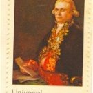 Don Antonio Noriega 10 cent Stamp Universal Postal Union Issue FDI SC 1537 First Day Issue