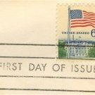 Flag Over the White House Stamp 6 cent FDI SC 1338 First Day Issue Flag Over Issue