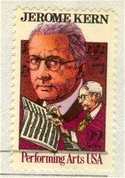 Jerome Kern Portrait 22 cent Stamp Performing Arts Issue FDI SC 2110 First Day Issue