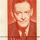 T S Eliot Portrait 22 cent Stamp Literary Arts Issue FDI SC 2239 First Day Issue
