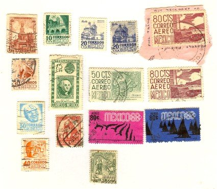 Mexico 12 Stamps Packet No 1518