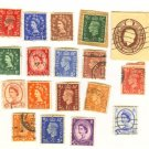 Great Britain Packet No 2503 with 18 stamps