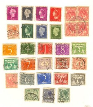 Netherlands Packet No 1515 with 27 stamps