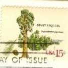 Giant Sequoia 15 cent Stamps American Trees Issue FDI SC 1764 First Day Issue