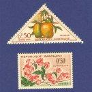 Gabon 2 Stamps