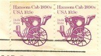 Hansom Cab 10.9 cent Coil Stamp Transportation Issue FDI SC 1904 First Day Issue