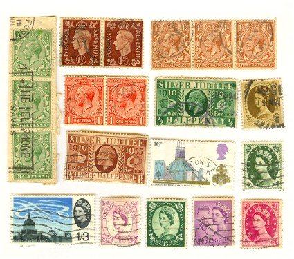 Great Britain Packet No 3504 with 14 stamps