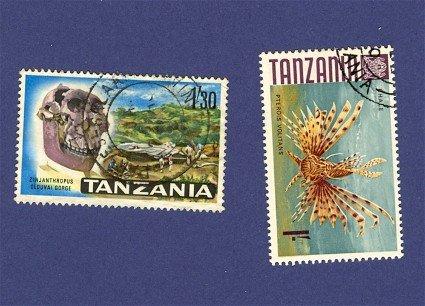 Tanzania 2 stamps