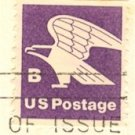B Brown Eagle Coil Stamp FDI SC 1820 First Day Issue