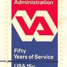 Veterans Administration 15 cent Stamp FDI SC 1825 First Day Issue