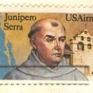 Junipero Serra Air Mail 44 cent Stamp FDI SC C116 First Day Issue