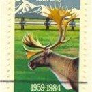 Alaska Statehood 20 cent Stamp FDI SC 2066 First Day Issue