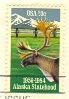 Alaska Statehood 20 cent Stamp FDI SC 2066 First Day Issue