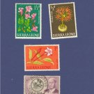 Sierra Leone 4 stamps