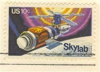 Skylab 10 cent Stamp FDI SC 1529 First Day Issue