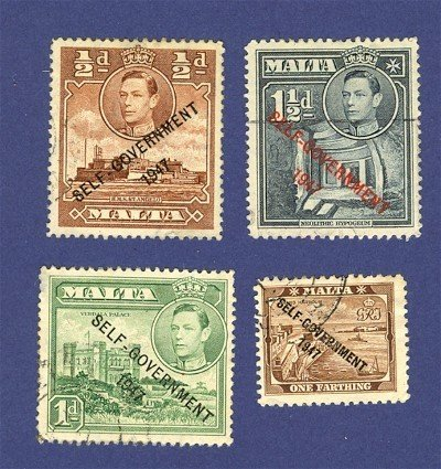 Malta 4 stamps