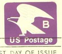 Violet Eagle B Envelope FDI SC U592 First Day Issue
