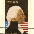George Washington 20 cent Stamp FDI SC 1952 First Day Issue