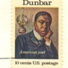 Paul Laurence Dunbar 10 cent Stamp American Arts Issue FDI SC 1554 First Day Issue
