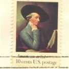 Benjamin West 10 cent Stamp American Arts Issue FDI SC 1553 First Day Issue