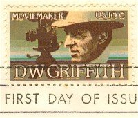 D W Griffith 10 cent Stamp American Arts Issue FDI SC 1555 First Day Issue
