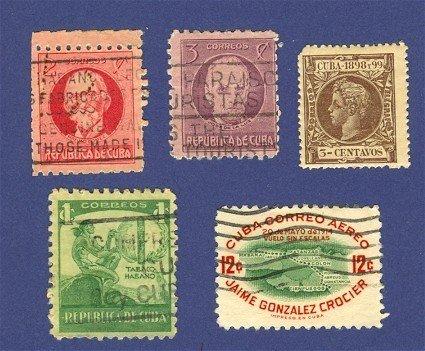 Cuba 5 stamps
