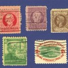 Cuba 5 stamps