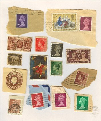Great Britain Packet No 4505 with 16 stamps