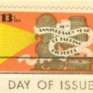 Talking Pictures 13 cent Stamp FDI SC 1727 First Day Issue