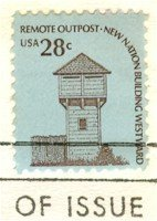 Fort Nisqually 28 cent Stamp FDI SC 1604 First Day Issue