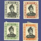 Brunei 4 stamps