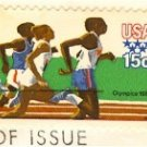 Track Runner Olympics 15 cent Stamp FDI SC 1791 First Day Issue
