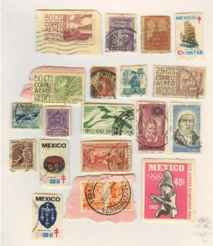 Mexico 15 Stamps Packet No 2517