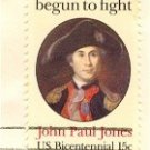 John Paul Jones 15 cent Stamp Charles Wilson Peale American Bicentennial Issue FDI SC 1789 First Day