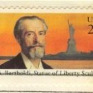 Frederic A Batholdi 22 cent Stamp FDI SC 2147 First Day Issue