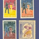 Viet Nam 4 stamps