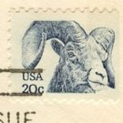 Bighorn Sheep 20 cent Stamp FDI SC 1949 First Day Issue