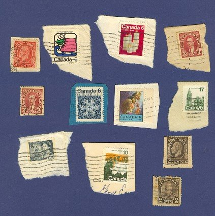 Canada 12 stamps Packet No 2388