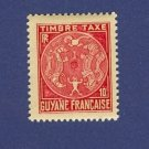 Guyanne French Colony 1 stamp