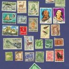 Variety Packet No 3524 from different places 29 stamps