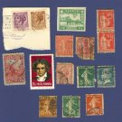 Variety Packet No 1526 Romania France Italy Germany 12 stamps