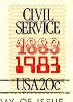 Civil Service Centennial 20 cent Stamp FDI SC 2053 First Day Issue