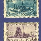 Saargebiet 2 stamps Modern Germany   Packet 10593