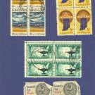 United States Stamps 4 Sets of Blocks of 4  Packet No 15634