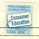 Consumer Education Stamp 20 cent FDI SC 2005 First Day Issue