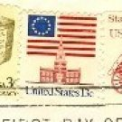 Stagecoach Coil Stamp 4 cent FDI SC 1898a First Day Issue Transportation Issue